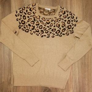 Merona  Animal Print Sweater
